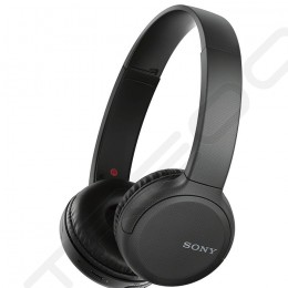 Sony WH-CH510 Wireless Bluetooth On-Ear Headphone with Mic - Black