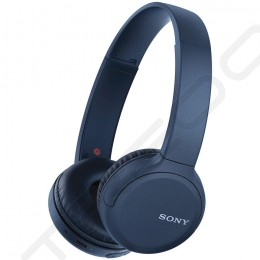 Sony WH-CH510 Wireless Bluetooth On-Ear Headphone with Mic - Blue