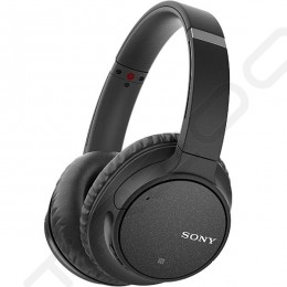 Sony WH-CH700N Wireless Bluetooth Noise-Cancelling Over-the-Ear Headphone with Mic - Black
