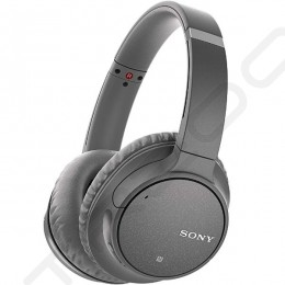 Sony WH-CH700N Wireless Bluetooth Noise-Cancelling Over-the-Ear Headphone with Mic - Grey