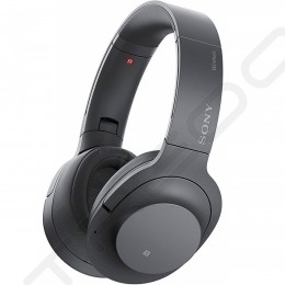 Sony WH-H900N h.ear on 2 Wireless Bluetooth Noise-Cancelling Over-the-Ear Headphone with Mic - Grayish Black