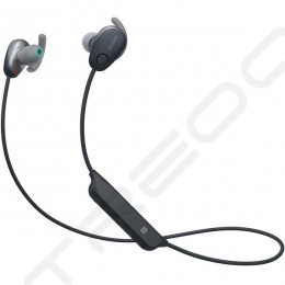 Sony WI-SP600N Noise-Cancelling Wireless Bluetooth In-Ear Earphone with Mic - Black