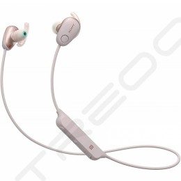 Sony WI-SP600N Noise-Cancelling Wireless Bluetooth In-Ear Earphone with Mic - Pink