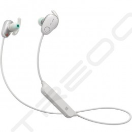Sony WI-SP600N Noise-Cancelling Wireless Bluetooth In-Ear Earphone with Mic - White