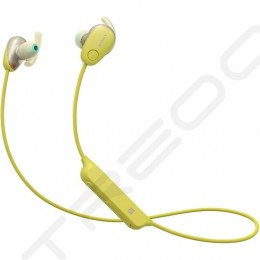Sony WI-SP600N Noise-Cancelling Wireless Bluetooth In-Ear Earphone with Mic - Yellow