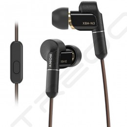 Sony XBA-N3AP 2-Driver Hybrid In-Ear Earphone with Mic