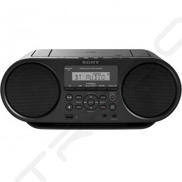 Sony ZS-RS60BT CD Boombox Wireless Bluetooth Portable Speaker with FM Radio