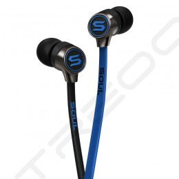Soul by Ludacris Mini In-Ear Earphone with Mic - Blue
