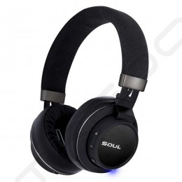 Soul by Ludacris Impact OE Wireless Bluetooth Over-the-Ear Headphone with Mic