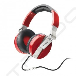 Focal Spirit One Over-the-Ear Headphone with Mic - Red