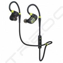 Audio-Technica ATH-SPORT4 Wireless Bluetooth In-Ear Earphone with Mic - Black