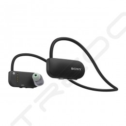Sony SSE-BTR1 Smart B-Trainer Waterproof Walkman Neckband Wireless Bluetooth In-ear Earphones - Black