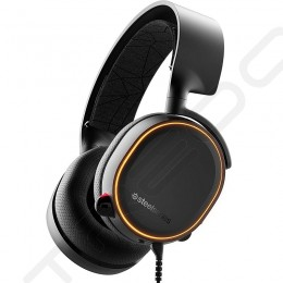 SteelSeries Arctis 5 (2019 Edition) Over-the-Ear Gaming Headset with Mic - Black