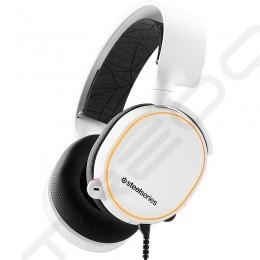 SteelSeries Arctis 5 (2019 Edition) Over-the-Ear Gaming Headset with Mic - White