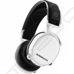 SteelSeries Arctis 7 (2019 Edition) Wireless 2.4GHz Over-the-Ear Gaming Headset with Mic - White