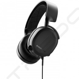 SteelSeries Arctis 3 Noise-Cancelling Over-the-Ear Headphone with Mic - Black