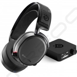 SteelSeries Arctis Pro Wireless Bluetooth+2.4GHz Over-the-Ear Gaming Headset with Mic - Black