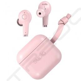 Sudio ETT True Wireless Bluetooth Noise-Cancelling In-Ear Earphone with Mic - Pink