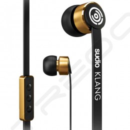 Sudio Klang In-Ear Earphone with Mic - Black