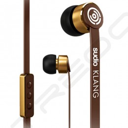 Sudio Klang In-Ear Earphone with Mic - Brown