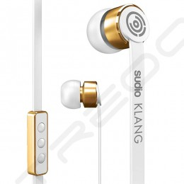 Sudio Klang In-Ear Earphone with Mic - White