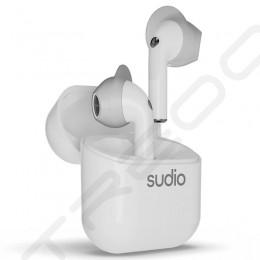 Sudio Nio True Wireless Bluetooth In-Ear Earphone with Mic - White