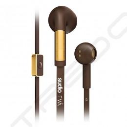 Sudio TVÅ On-Ear Earbud with Mic - Brown