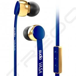 Sudio VASA In-Ear Earphone with Mic for iOS - Blue