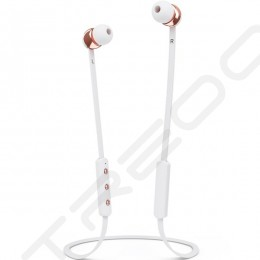 Sudio Vasa Blå Wireless Bluetooth In-Ear Earphone with Mic - Rose Gold White