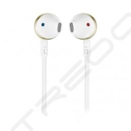 JBL TUNE 205BT (T205BT) Wireless Bluetooth In-Ear Earphone with Mic - Gold