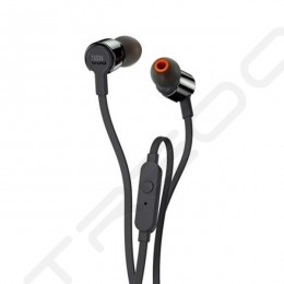 JBL T210 In-Ear Earphone with Mic - Black