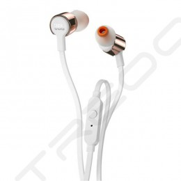 JBL T210 In-Ear Earphone with Mic - Rose Gold