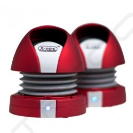 X-mini MAX II Capsule Portable Speaker - Red