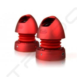 X-mini MAX v1.1 Capsule Portable Speakers - Red