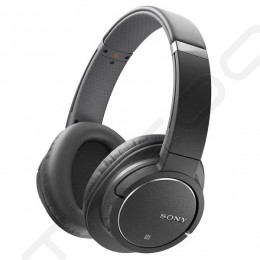 Sony MDR-ZX770BN Wireless Bluetooth Noise-Cancelling Over-the-Ear Headphone with Mic - Black
