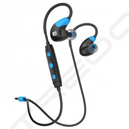 MEE Audio X7 Wireless Bluetooth In-Ear Earphone with Mic - Blue