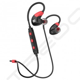MEE Audio X7 Wireless Bluetooth In-Ear Earphone with Mic - Red