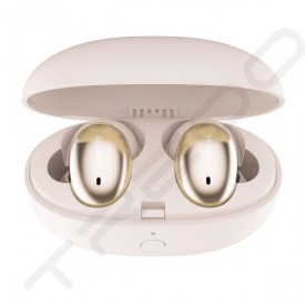 1MORE Stylish (E1026BT-1) True Wireless Bluetooth In-Ear Earphone with Mic - Gold