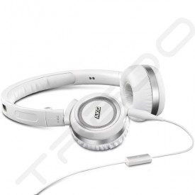 AKG K452 On-Ear Headphone with Mic - White