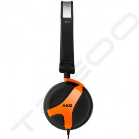 AKG K518 LE On-Ear DJ Headphone - Orange
