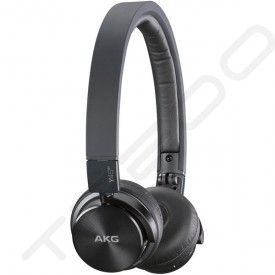 AKG Y45BT Bluetooth Wireless On-Ear Headphones with Mic - Black