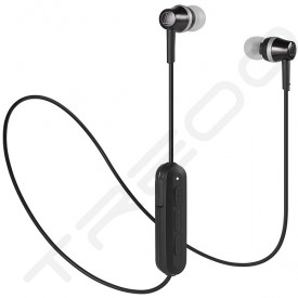 Audio-Technica ATH-CKR300BT Wireless Bluetooth In-Ear Earphone with Mic - Black
