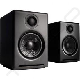 Audioengine A2+ Bookshelf 2.0 Wireless Bluetooth Speaker System - Satin Black