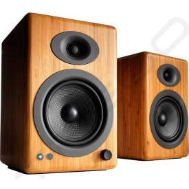 Audioengine A5+ Wireless Bluetooth - Natural Bamboo