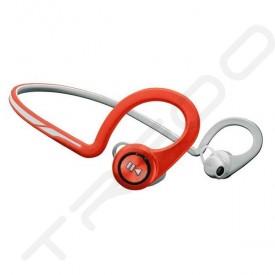 Plantronics Backbeat Fit Waterproof Neckband Wireless Bluetooth In-Ear Earphone with Mic - Lava Red