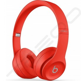 Beats Solo³ Wireless Bluetooth On-Ear Headphone with Mic - Citrus Red