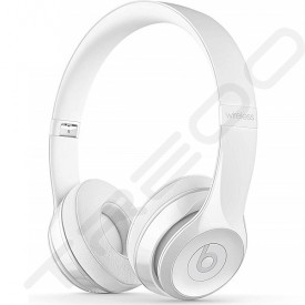 Beats Solo³ Wireless Bluetooth On-Ear Headphone with Mic - Gloss White