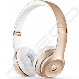 Beats Solo³ Wireless Bluetooth On-Ear Headphone with Mic - Gold