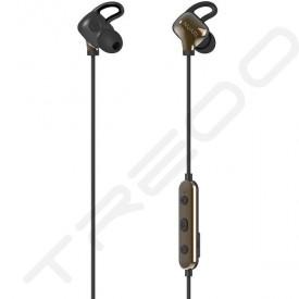 NUARL NB10R2 HDSS Wireless Bluetooth In-Ear Earphone with Mic - Black Gold
