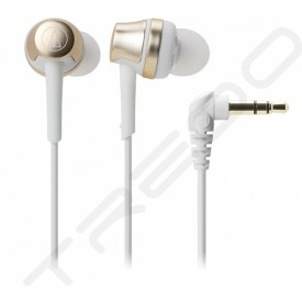 Audio-Technica ATH-CKR50iS In-Ear Earphone - Champagne Gold